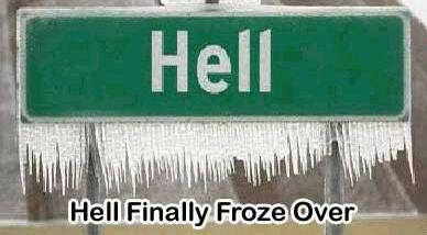 Frozen Hell - Funny Pictures and Images