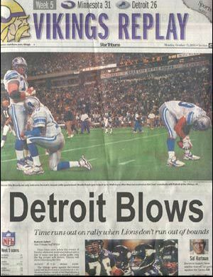 American Football Newspaper - Funny Pictures and Images